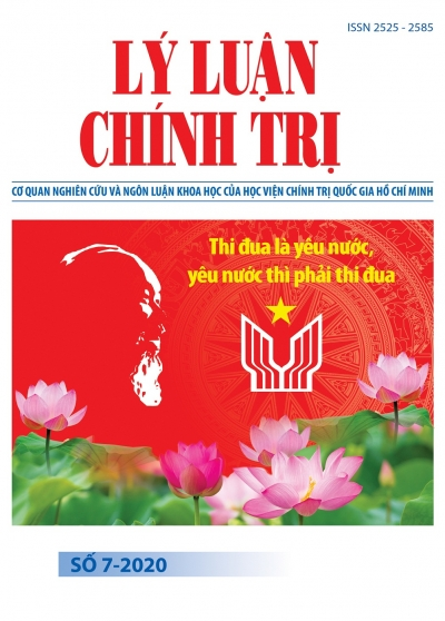 Political Theory Journal (Vietnamese Version) Issue No 7-2020