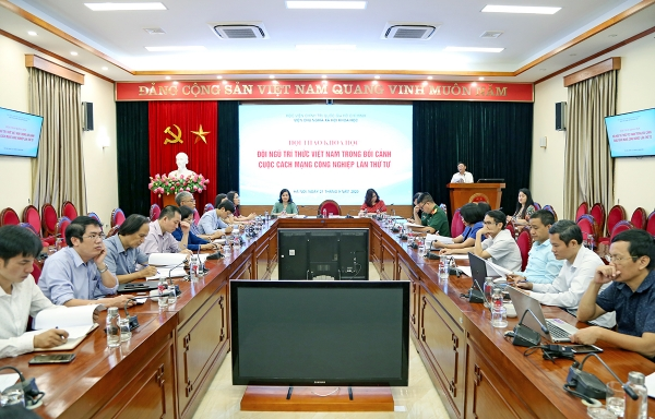 "Scientific workshop ""Vietnamese intellectuals in the context of the Fourth Industrial Revolution"""