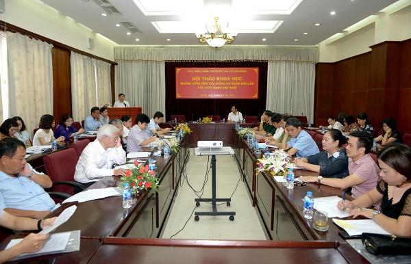 "Scientific seminar ""Pham Huu Lau's dedication to the Vietnamese Revolution"""