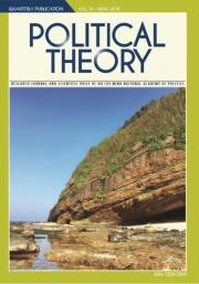 Political Theory Journal Vol 16, March, 2018