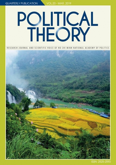 Political Theory Journal Vol.20 - Mar, 2019