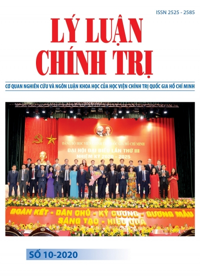 Political Theory Journal (Vietnamese Version) Issue No 10-2020