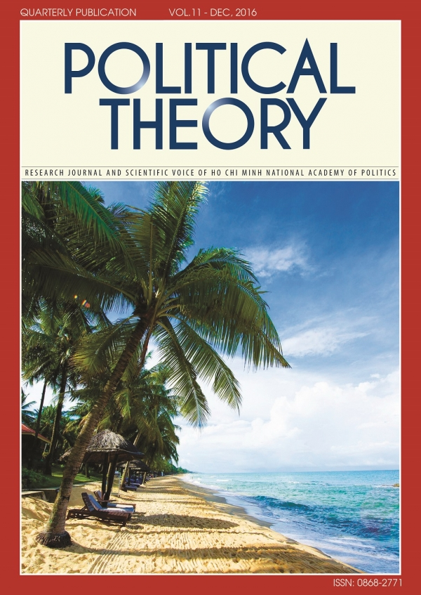 Political Theory Journal Vol 11, December, 2016
