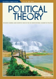 Political Theory Journal Vol.18 - Sep, 2018