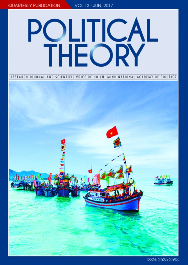 Political Theory Journal Vol 13, June, 2017