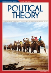 Political Theory Journal Vol8, March, 2016