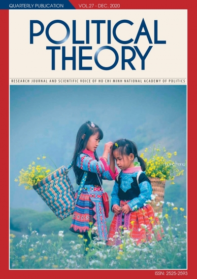 Political Theory Journal Vol.27 - Dec, 2020