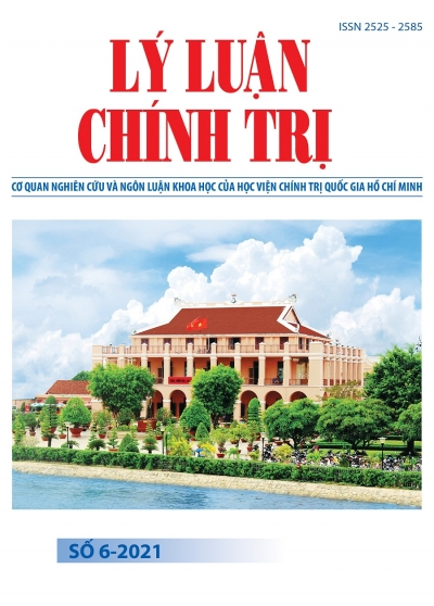 Political Theory Journal (Vietnamese Version) Issue No 5-2021