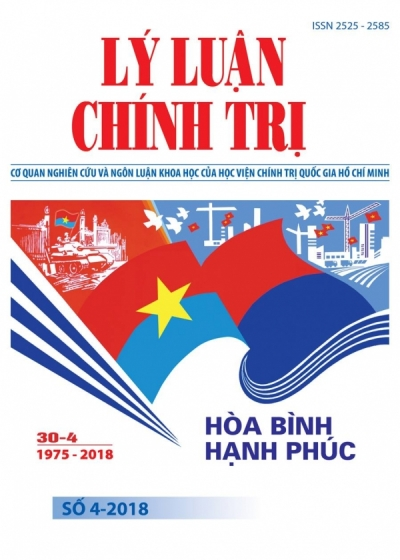 Political Theory Journal (Vietnamese Version) Issue No 4-2018