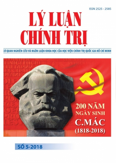 Political Theory Journal (Vietnamese Version) Issue No 5-2018