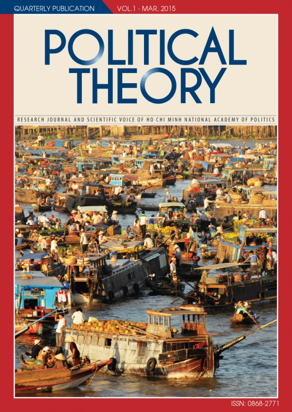 Political Theory Journal Vol1, March, 2015