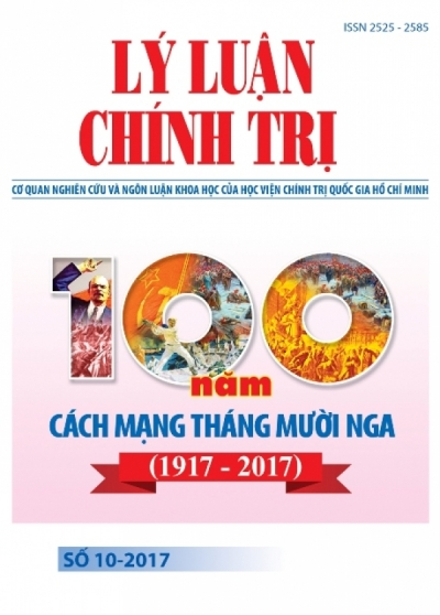 Political Theory Journal (Vietnamese Version) Issue No 10-2017