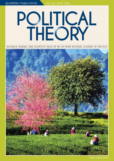 Political Theory Journal Vol.24 - Mar, 2020