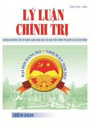 Political Theory Journal (Vietnamese Version) Issue No 9-2020