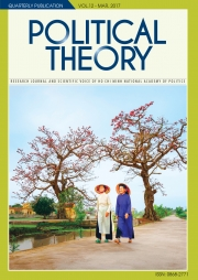 Political Theory Journal Vol 12, March, 2017