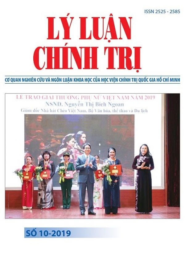 Political Theory Journal (Vietnamese Version) Issue No 10-2019