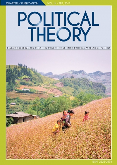 Political Theory Journal Vol 14, Sep, 2017