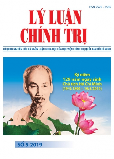 Political Theory Journal (Vietnamese Version) Issue No 5-2019