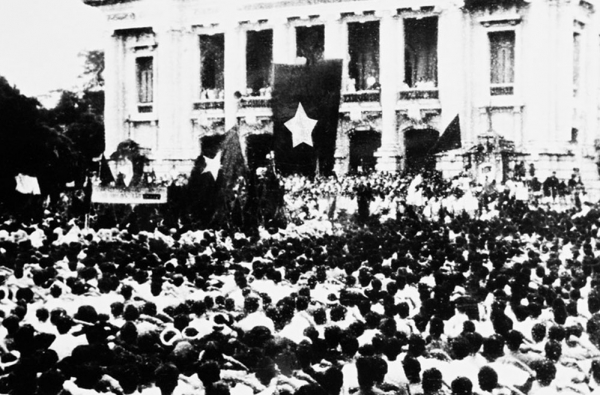 Lessons of experience learned from the August revolution 1945