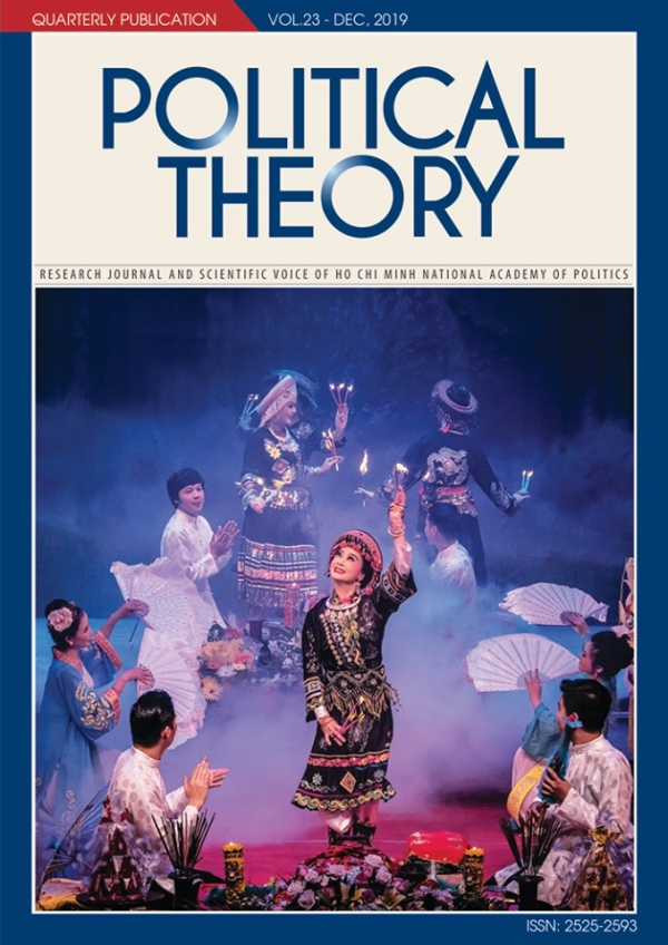 Political Theory Journal Vol.23 - Dec, 2019