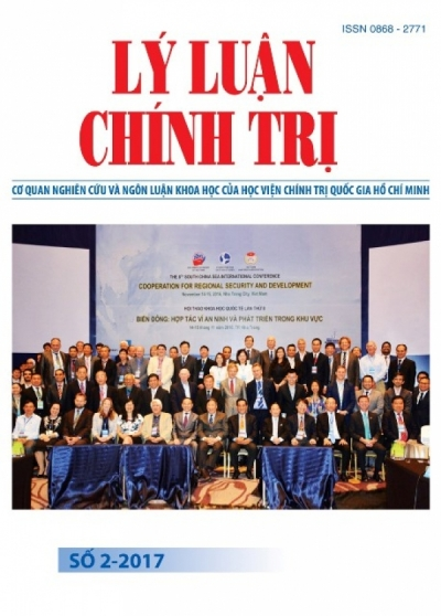 Political Theory Journal (Vietnamese Version) Issue No 2-2017