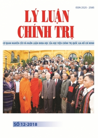 Political Theory Journal (Vietnamese Version) Issue No 12-2018