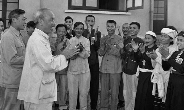 Ho Chi Minh with the Communist International and creative application of Marxism - Leninism to the practice of Vietnamese revolution
