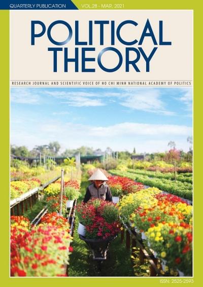 Political Theory Journal Vol.28 - Mar, 2021