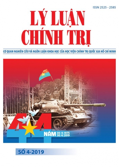 Political Theory Journal (Vietnamese Version) Issue No 4-2019
