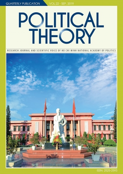Political Theory Journal Vol.22 - Sep, 2019