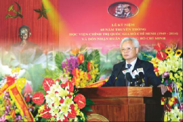 Ho Chi Minh National Academy of Politics to uphold its 65-year tradition and innovate to meet Party's requirements in new period