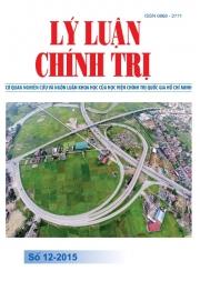 Tạp chí Lý luận chính trị số 12 - 2015