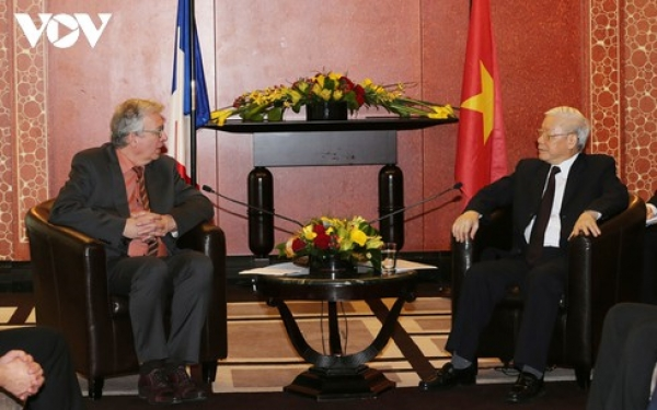 Quan hệ truyền thống, gắn bó đặc biệt giữa Đảng Cộng sản Pháp và Đảng Cộng sản Việt Nam