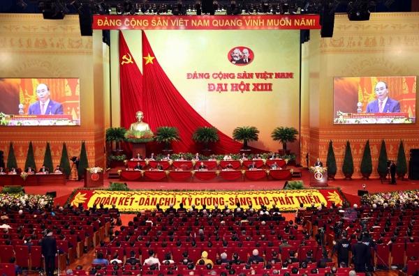 Diễn văn khai mạc Đại hội Đại biểu toàn quốc lần thứ XIII của Đảng Cộng sản Việt Nam