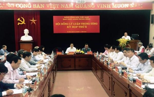 Kỳ họp thứ 5 Hội đồng Lý luận Trung ương nhiệm kỳ 2016 - 2021