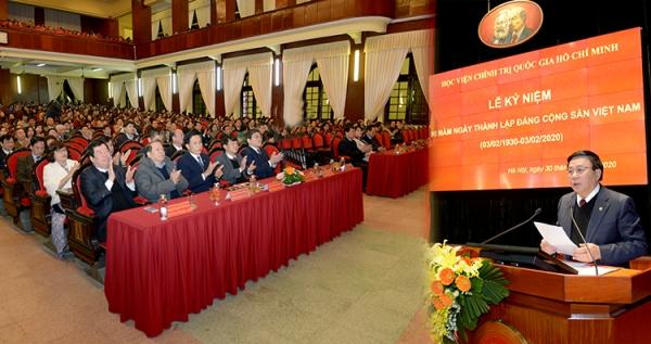 Đảng Cộng sản Việt Nam - Trí tuệ, Bản lĩnh, Đổi mới vì Độc lập dân tộc và chủ nghĩa xã hội xứng đáng với truyền thống 90 năm