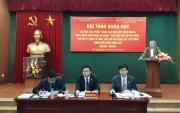 """50 năm tác phẩm """"Nâng cao đạo đức cách mạng, quét sạch chủ nghĩa cá nhân"""" của Chủ tịch Hồ Chí Minh và ý nghĩa đối với công tác xây dựng, chỉnh đốn Đảng hiện nay"""