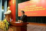 Hội nghị Tổng kết, đánh giá kết quả triển khai các lớp bồi dưỡng dự nguồn cán bộ cao cấp