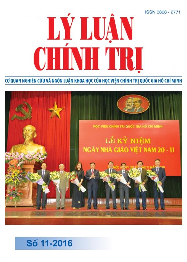 Tạp chí Lý luận chính trị số 11 - 2016