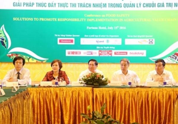 """Hội thảo """"Nông nghiệp an toàn, giải pháp thúc đẩy trách nhiệm trong quản lý chuỗi giá trị nông nghiệp"""""""
