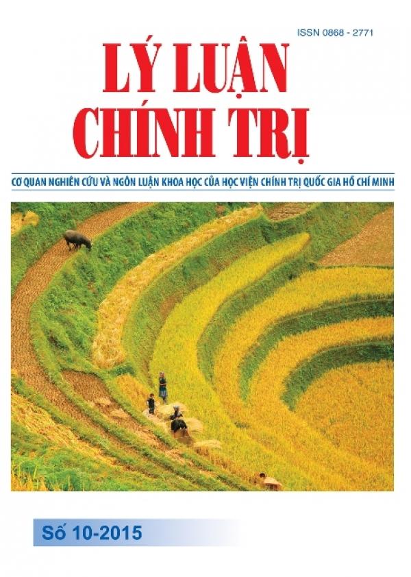 Tạp chí Lý luận chính trị số 10 - 2015