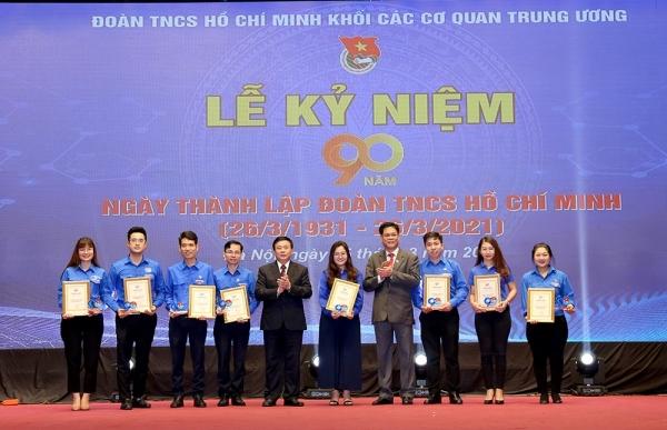 Lễ Kỷ niệm 90 năm ngày thành lập Đoàn TNCS Hồ Chí Minh (26/3/1931 – 26/3/2021) và tuyên dương Bí thư Chi đoàn tiêu biểu năm 2021