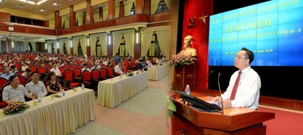 Lễ kỷ niệm ngày khoa học và công nghệ Việt Nam