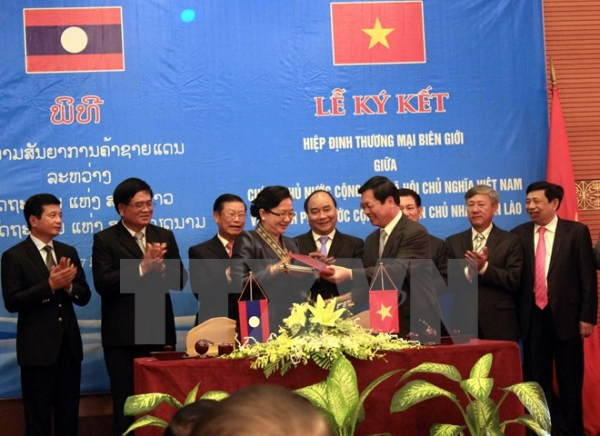 Hợp tác đào tạo cán bộ lãnh đạo, quản lý giữa Việt Nam và Lào