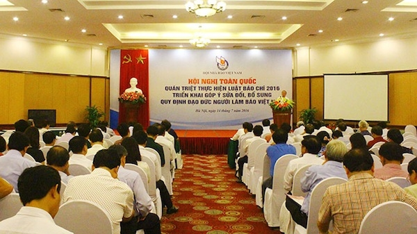 Hội nghị toàn quốc quán triệt thực hiện Luật Báo chí 2016; triển khai góp ý sửa đổi, bổ sung quy định đạo đức người làm báo Việt Nam