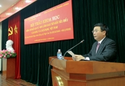 """Hội thảo khoa học: """"Đồng chí Ngô Gia Tự - Nhà lãnh đạo tiền bối tiêu biểu của Đảng và cách mạng Việt Nam""""."""