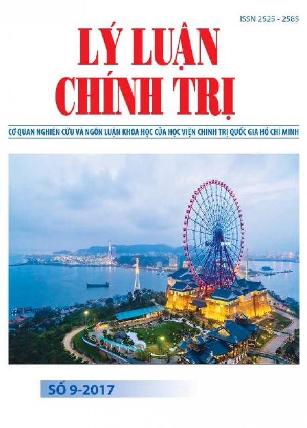 Tạp chí Lý luận chính trị số 9-2017