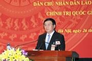 Tổng Bí thư, Chủ tịch nước Cộng hòa Dân chủ Nhân dân Lào thăm Học viện Chính trị quốc gia Hồ CHí Minh
