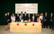 """Lễ ký kết Biên bản ghi nhớ """"Chương trình đối tác trao đổi kinh nghiệm phát triển vì tầm nhìn Việt Nam"""""""
