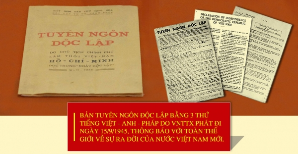 Giá trị và ý nghĩa thời đại của tư tưởng Hồ Chí Minh về quyền con người, quyền dân tộc tự quyết qua bản Tuyên ngôn Độc lập năm 1945